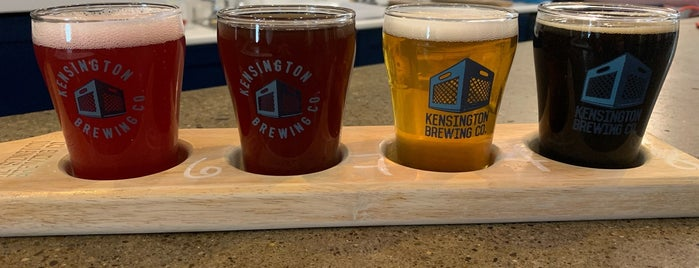 Kensington Brewing Company is one of สถานที่ที่ Mikael ถูกใจ.