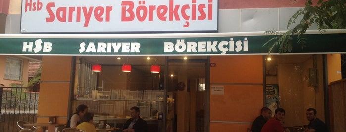 HSB Sarıyer Börekçisi is one of ISTANBUL.