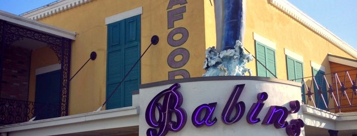 Babin's Seafood House is one of rodney: сохраненные места.