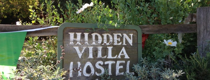 Hidden Villa Farm is one of California.