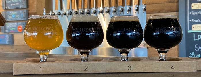 Hardywood Pilot Brewery & Taproom is one of charlottesville.
