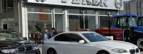 Peker Motorlu Araclar Ulus is one of Yunus'un Beğendiği Mekanlar.