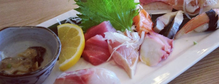 Toshi Sushi is one of To Live and Thrive in (DT)LA.