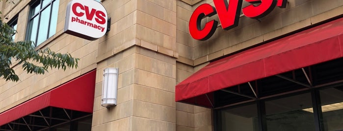 CVS pharmacy is one of Tempat yang Disukai Yvette.