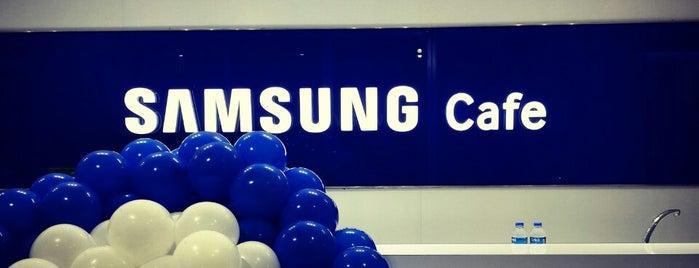 Samsung Cafe is one of Lugares favoritos de Seçil.