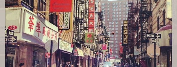 Chinatown is one of New York.