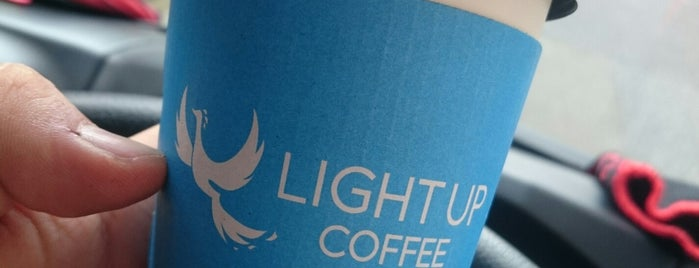 LIGHT UP COFFEE is one of Gespeicherte Orte von Whit.