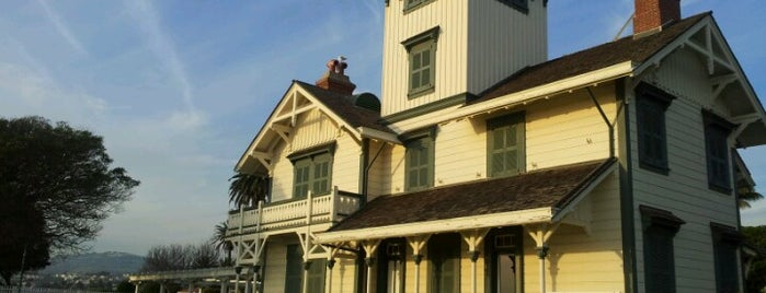 Point Fermin Lighthouse is one of LA.