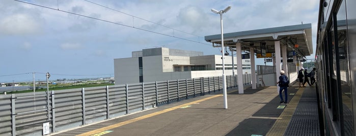 Yamashita Station is one of JR 미나미토호쿠지방역 (JR 南東北地方の駅).