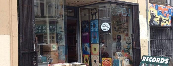 Groove Merchant is one of SF Vinyl.