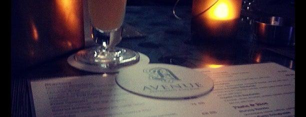 Avenue Restaurant & Lounge is one of Posti salvati di Anas.
