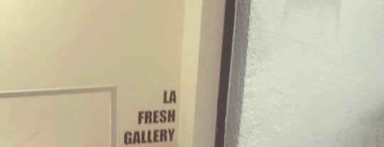 La Fresh Gallery is one of Madrid.