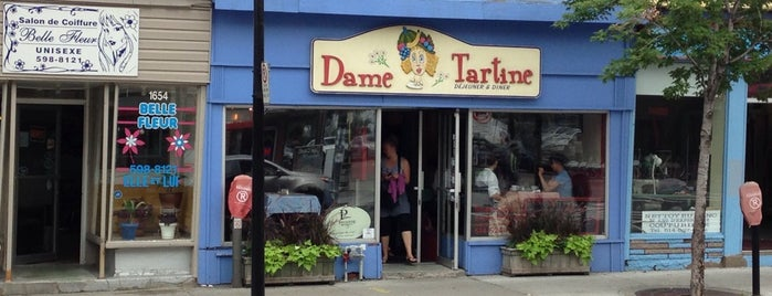 Dame Tartine is one of Montréal.