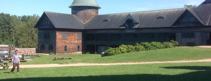 Shelburne Farms is one of NY and VT.