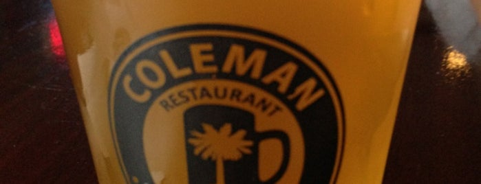 Coleman Public House Restaurant & Tap Room is one of Tyler : понравившиеся места.