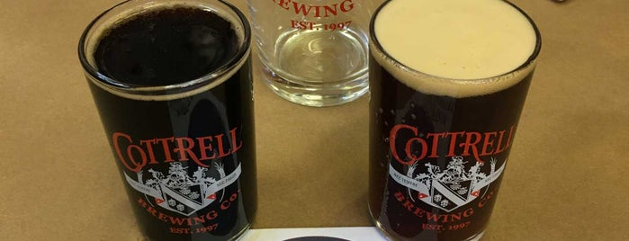 Cottrell Brewing Co. is one of Best breweries, brew pubs, and beer bars.