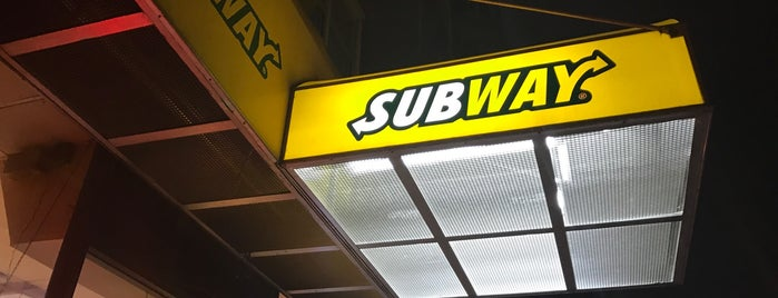 Subway is one of Sandwich Place.