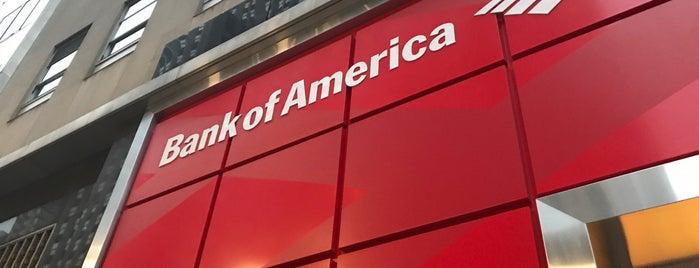 Bank of America is one of YENİ MAYORLUK MEKANLARI.