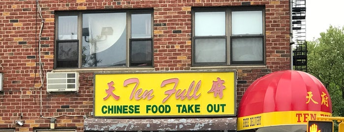 Ten Full Chinese is one of Sunnyside Favs.