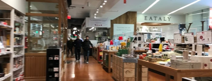 Eataly Downtown is one of 11 Howard + Foursquare Guide to Spring in NYC.