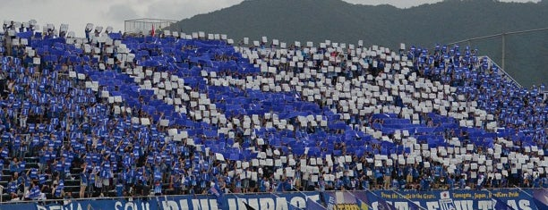 NDsoft Stadium Yamagata is one of outsiders....