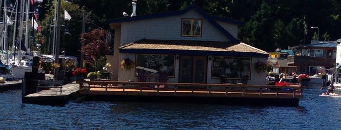 Sleepless in Seattle Boat House is one of Seattle; Vancouver & Whistler.