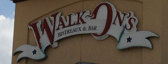 Walk-On's Sports Bistreaux is one of Baton Rouge Restaurants.
