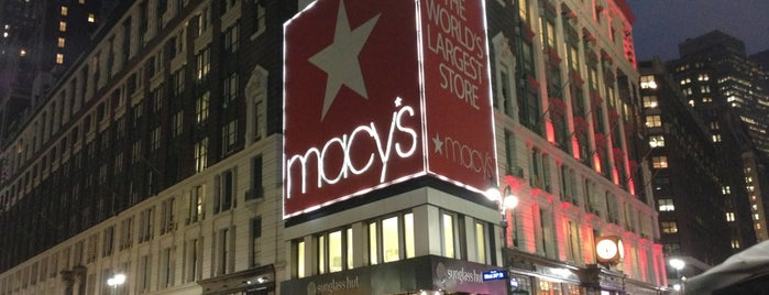 Macy's is one of ALL NYC.