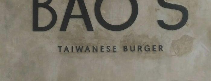 Bao's Taiwanese Burger is one of สถานที่ที่ Vyacheslav ถูกใจ.