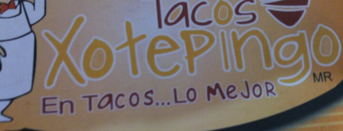 Tacos Xotepingo is one of Gourmet.