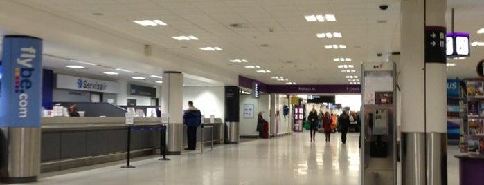Edinburgh Airport (EDI) is one of Airports (around the world).