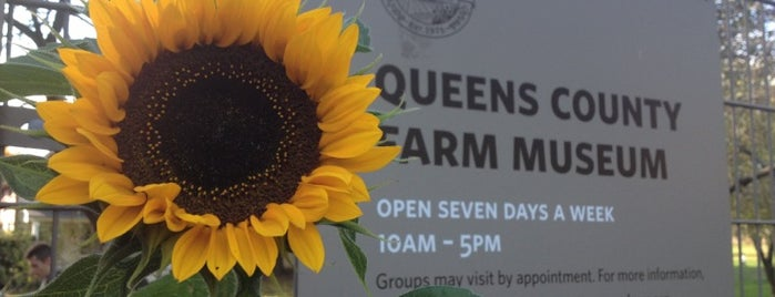 Queens County Farm Museum is one of Partners in Preservation-New York City.