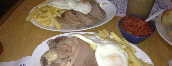 El Hoyo Restaurant is one of Santiago.