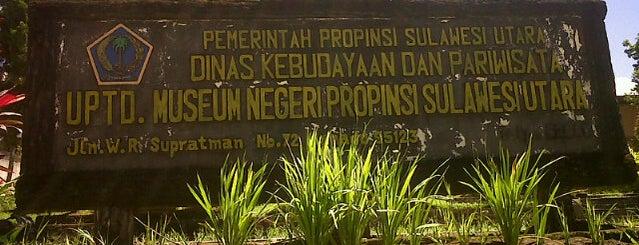 Museum Negeri Sulawesi Utara is one of Museum In Indonesia.
