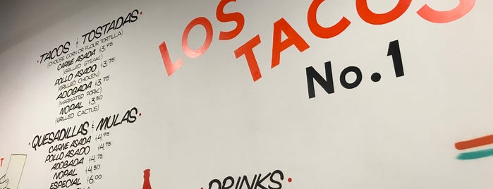 Los Tacos No. 1 is one of NY.