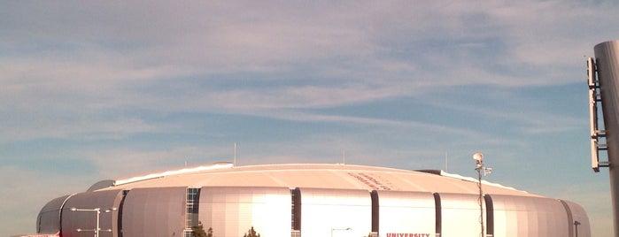 University Of Arizona Stadium is one of Sparky's Playbook.