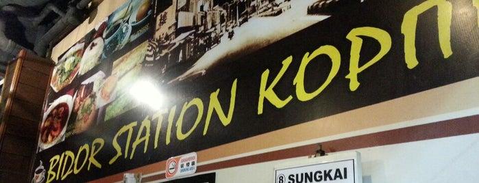 Bidor Station Kopitiam is one of Makan2.