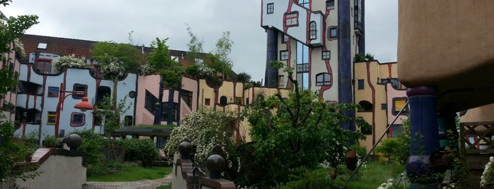 Hundertwasserhaus is one of Crazy Places.