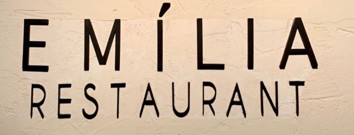 Emília Restaurant is one of Df.