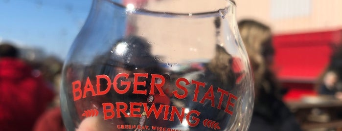 Badger State Brewing Company is one of Tempat yang Disimpan Mary Hobb.