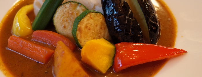 ベイリーフ is one of TOKYO-TOYO-CURRY 3.