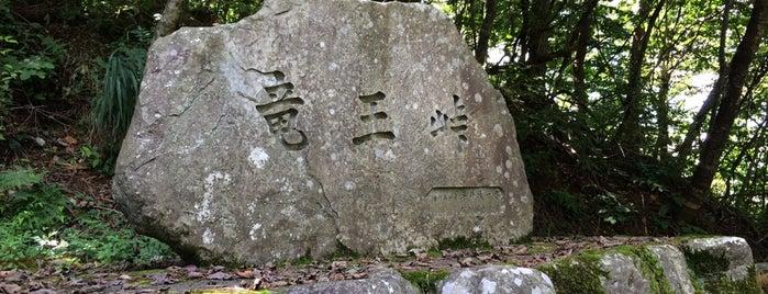 竜王峠 is one of 四国の酷道・険道・死道・淋道・窮道.