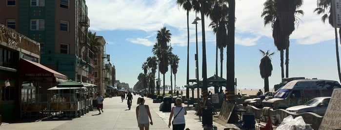 Venice Beach is one of Going Back To Cali...Again.