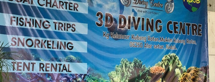 3D Dive Centre is one of Lieux qui ont plu à Rahmat.