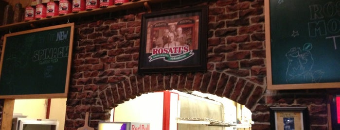 Rosati's Pizza is one of Chicagoland.