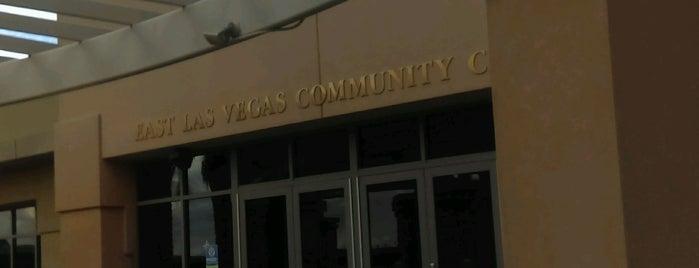 East Las Vegas Community Center is one of สถานที่ที่บันทึกไว้ของ Chester Thrash.