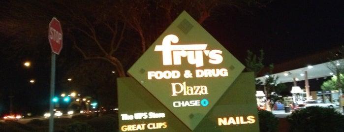 Fry's Food Store is one of Tempat yang Disukai Andy.