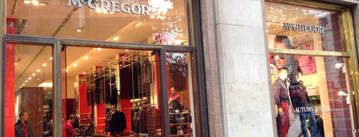 Mcgregor Flagship Store is one of Best shopping in Barcelona.