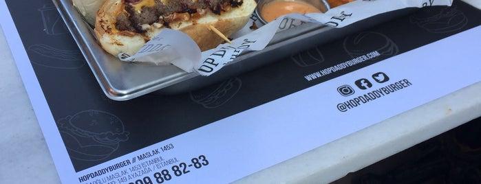 Hopdaddy Burger is one of สถานที่ที่ Fatema ถูกใจ.