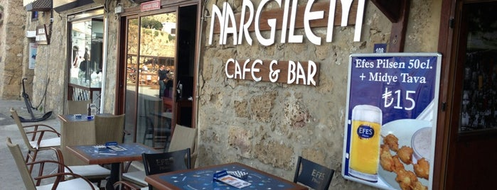 Nargilem Cafe & Bar is one of Posti che sono piaciuti a Emine.